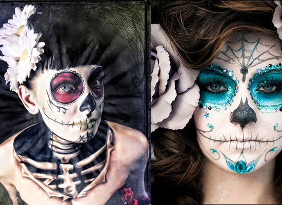 25 Best Crazy Scary Halloween Make Up Looks Ideas 2012 For Girls Women 25 25 Best, Crazy & Scary Halloween Make Up Looks & Ideas 2012 For Girls & Women