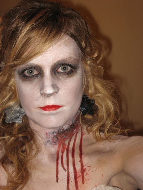 25 Best Crazy Scary Halloween Make Up Looks Ideas 2012 For Girls Women 7 25 Best, Crazy & Scary Halloween Make Up Looks & Ideas 2012 For Girls & Women