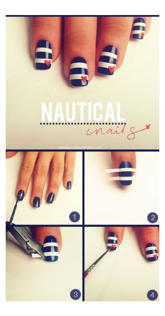 25-Best-Easy-Nail-Art-Tutorials-2012-For-Beginners-Learners-10