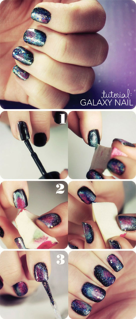 25-Best-Easy-Nail-Art-Tutorials-2012-For-Beginners-Learners-12