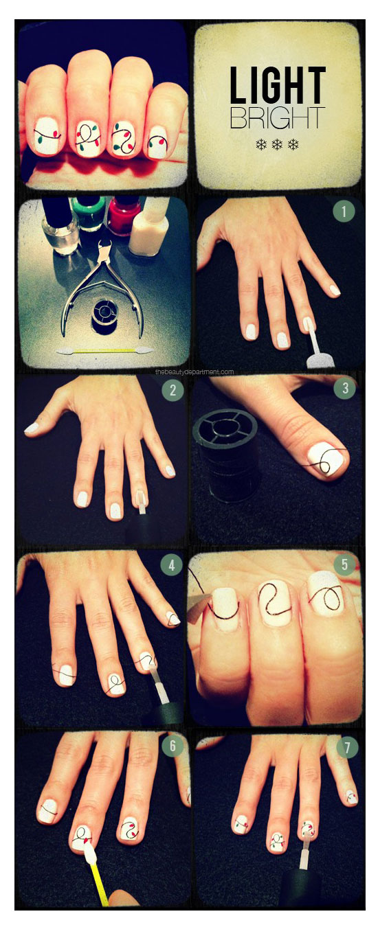 25-Best-Easy-Nail-Art-Tutorials-2012-For-Beginners-Learners-14