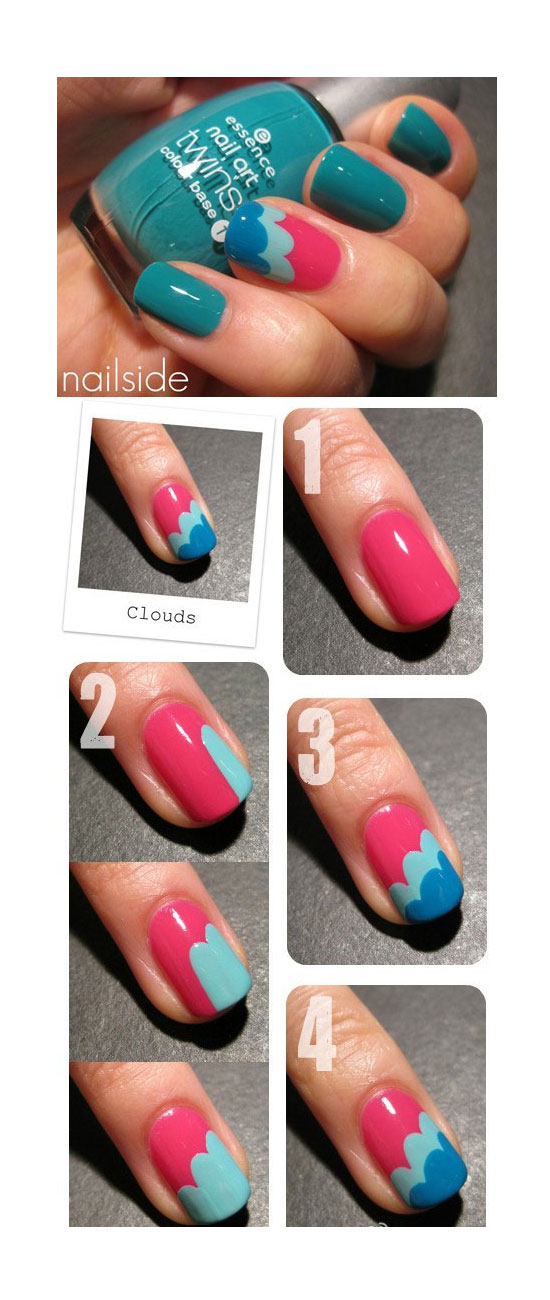25-Best-Easy-Nail-Art-Tutorials-2012-For-Beginners-Learners-15