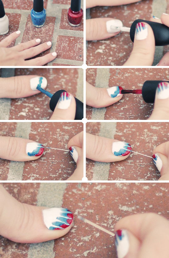 25-Best-Easy-Nail-Art-Tutorials-2012-For-Beginners-Learners-21