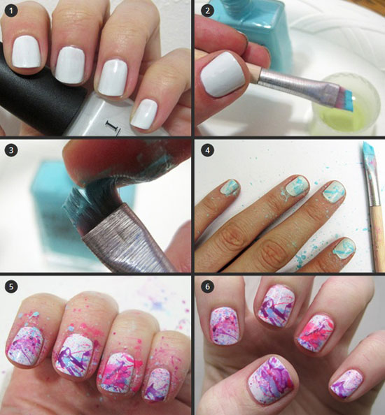 25-Best-Easy-Nail-Art-Tutorials-2012-For-Beginners-Learners-22