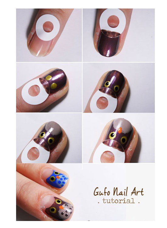 25-Best-Easy-Nail-Art-Tutorials-2012-For-Beginners-Learners-23