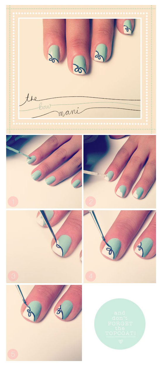 25-Best-Easy-Nail-Art-Tutorials-2012-For-Beginners-Learners-5