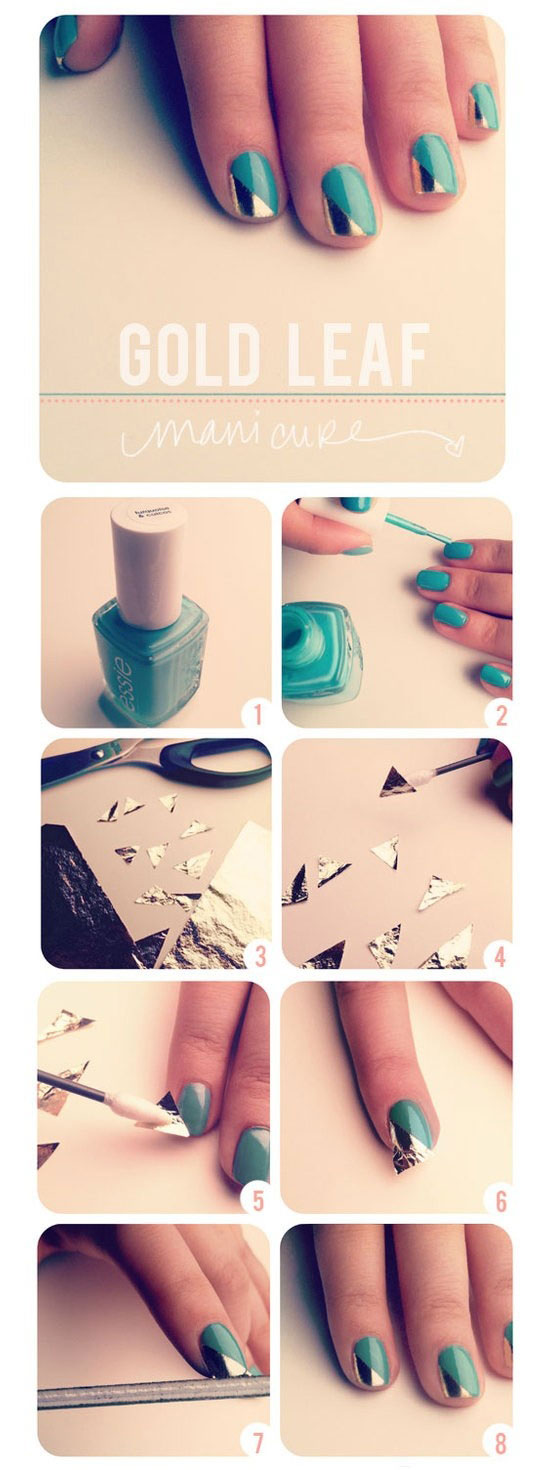 25-Best-Easy-Nail-Art-Tutorials-2012-For-Beginners-Learners-6