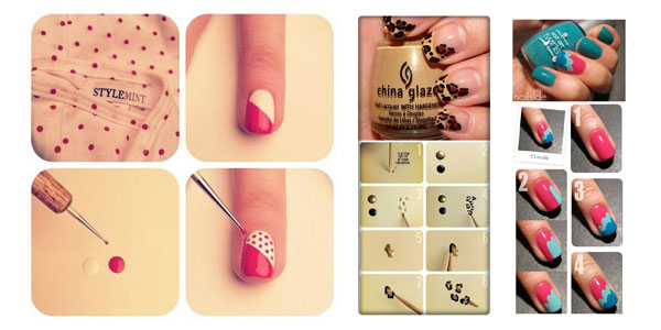 How To Do Toe Nail Art Designs For Beginners At Home : Best easy nail art tutorials for beginners learners girlshue