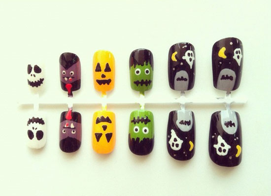 25 Best Scary Halloween Nail Art Designs Ideas 2012 10 25 Best & Scary Halloween Nail Art Designs & Ideas 2012