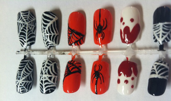 25 Best Scary Halloween Nail Art Designs Ideas 2012 11 25 Best & Scary Halloween Nail Art Designs & Ideas 2012