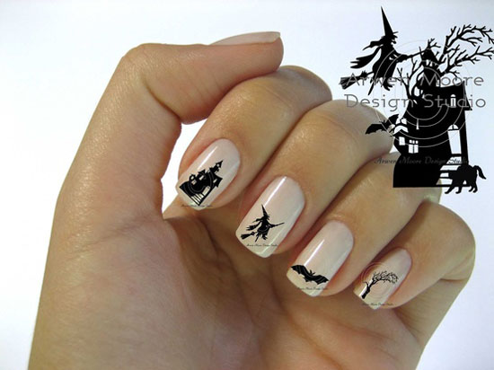 25 Best Scary Halloween Nail Art Designs Ideas 2012 16 25 Best & Scary Halloween Nail Art Designs & Ideas 2012