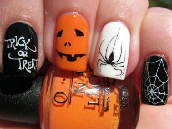 25 Best Scary Halloween Nail Art Designs Ideas 2012 18 25 Best & Scary Halloween Nail Art Designs & Ideas 2012