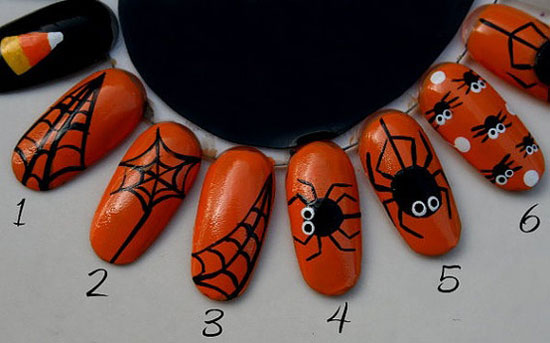 25 Best Scary Halloween Nail Art Designs Ideas 2012 23 25 Best & Scary Halloween Nail Art Designs & Ideas 2012