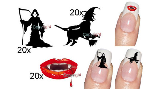 25 Best Scary Halloween Nail Art Designs Ideas 2012 25 25 Best & Scary Halloween Nail Art Designs & Ideas 2012