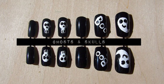 25 Best Scary Halloween Nail Art Designs Ideas 2012 9 25 Best & Scary Halloween Nail Art Designs & Ideas 2012