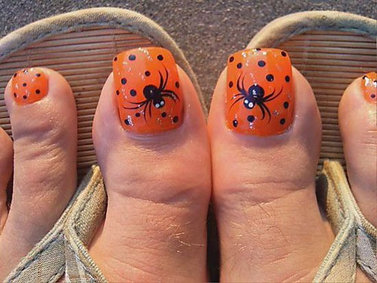 25 Simple Easy Scary Halloween Nail Art Designs Ideas Pictures 2012 22 25 Simple, Easy & Scary Halloween Nail Art Designs, Ideas & Pictures 2012