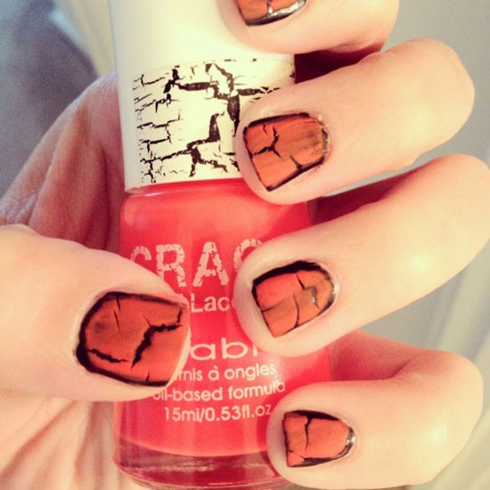 25 Simple Easy Scary Halloween Nail Art Designs Ideas Pictures 2012 3 25 Simple, Easy & Scary Halloween Nail Art Designs, Ideas & Pictures 2012