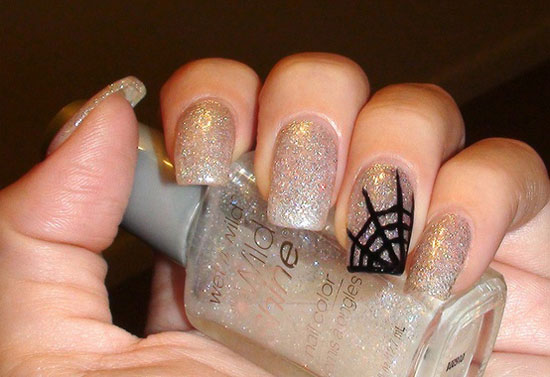 25 Simple Easy Scary Halloween Nail Art Designs Ideas Pictures 2012 9 25 Simple, Easy & Scary Halloween Nail Art Designs, Ideas & Pictures 2012