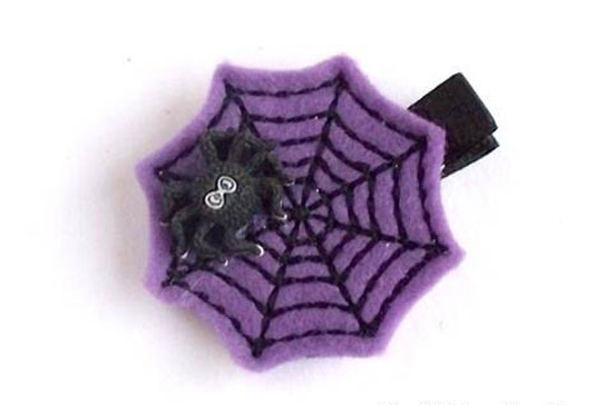 30 Best Scary Unique Halloween Hair Bows Clips 2012 For Girls Kids 12 30 Best, Scary & Unique Halloween Hair Bows & Clips 2012 For Girls & Kids