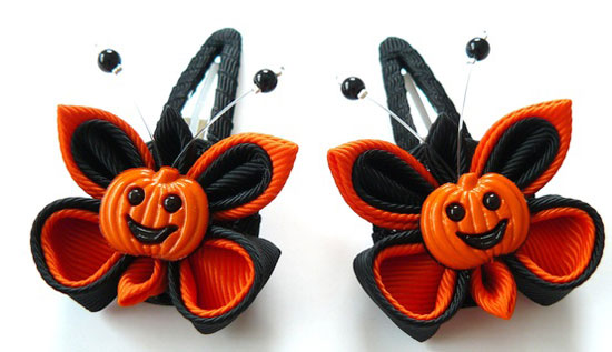 30 Best Scary Unique Halloween Hair Bows Clips 2012 For Girls Kids 19 30 Best, Scary & Unique Halloween Hair Bows & Clips 2012 For Girls & Kids