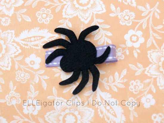 30 Best Scary Unique Halloween Hair Bows Clips 2012 For Girls Kids 25 30 Best, Scary & Unique Halloween Hair Bows & Clips 2012 For Girls & Kids