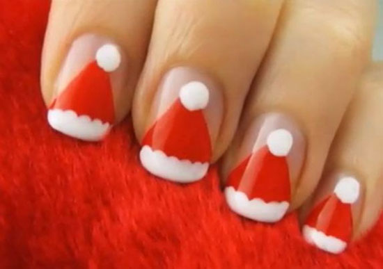 15 Simple Easy Christmas Nail Art Designs Ideas 2012 For Beginners Learners 6 15 Simple & Easy Christmas Nail Art Designs & Ideas 2012 For Beginners & Learners