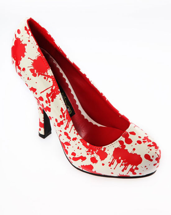 20 Best, Amazing, Stylish & Scary Halloween High Heels & Shoes 2012