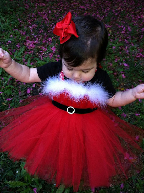 25 Best Christmas Costumes Outfit Ideas 2012 For Newborn Baby Girls Kids 15 25 Best Christmas Costumes & Outfit Ideas 2012 For Newborn Baby Girls & Kids