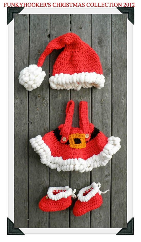 25 Best Christmas Costumes Outfit Ideas 2012 For Newborn Baby Girls Kids 3 25 Best Christmas Costumes & Outfit Ideas 2012 For Newborn Baby Girls & Kids