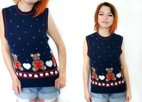 25 Best Ugly Tacky Christmas Sweaters Vest Patterns 2012 For Women 18 25 Best, Ugly & Tacky Christmas Sweaters & Vest Patterns 2012 For Women
