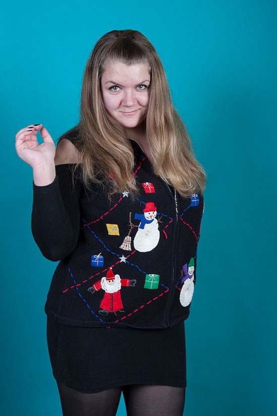 25 Best Ugly Tacky Christmas Sweaters Vest Patterns 2012 For Women 21 25 Best, Ugly & Tacky Christmas Sweaters & Vest Patterns 2012 For Women