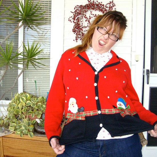 25 Best Ugly Tacky Christmas Sweaters Vest Patterns 2012 For Women 25 25 Best, Ugly & Tacky Christmas Sweaters & Vest Patterns 2012 For Women