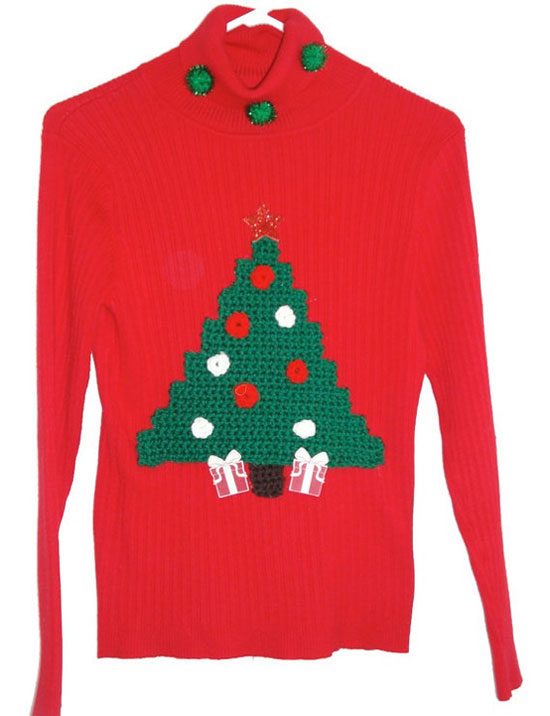 25 Best Ugly Tacky Christmas Sweaters Vest Patterns 2012 For Women 5 25 Best, Ugly & Tacky Christmas Sweaters & Vest Patterns 2012 For Women
