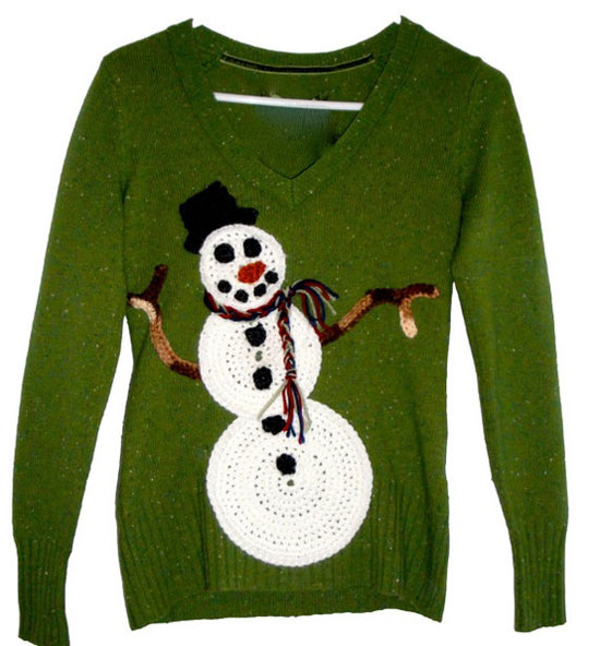 25 Best Ugly Tacky Christmas Sweaters Vest Patterns 2012 For Women 6 25 Best, Ugly & Tacky Christmas Sweaters & Vest Patterns 2012 For Women