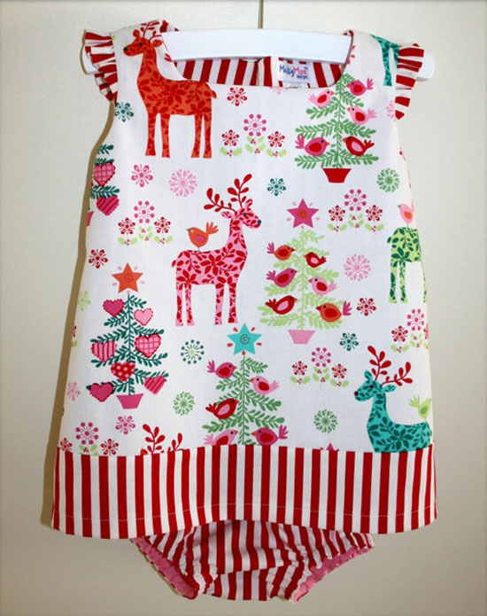 15-Beautiful-Cute-Christmas-Dresses-Outfits-2012-For-Newborn-Baby-Girls-Kids-4