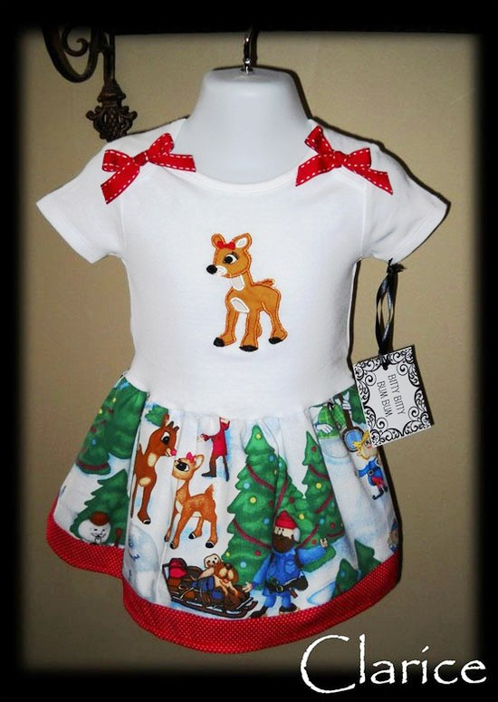 15-Beautiful-Cute-Christmas-Dresses-Outfits-2012-For-Newborn-Baby-Girls-Kids-5