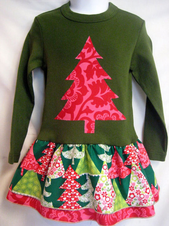 Amazing christmas dresses outfits 2012 for toddlers baby girls kids 7