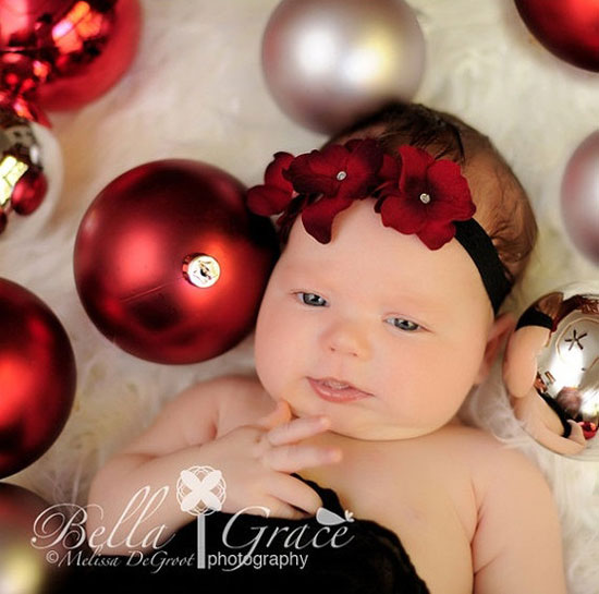 Funny Gif Newborn Baby Christmas Pictures Ideas