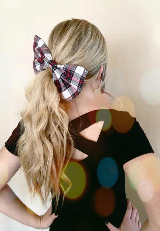 Cute Yet Crazy Christmas Tree Amp Party Hairstyles Amp Ideas