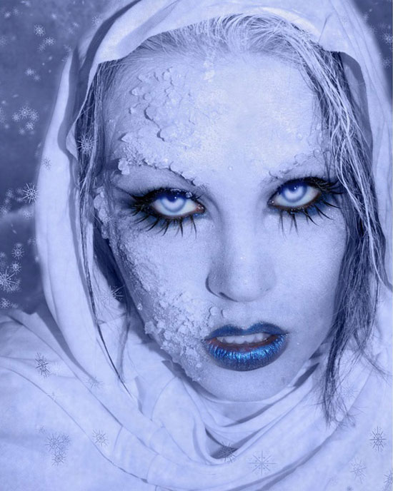 10 Frozen Ice Snow Queen White