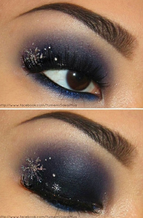 15 Best &amp Cool Winter Eye Make Up Looks Ideas &amp Trends - Cool Makeup Ideas