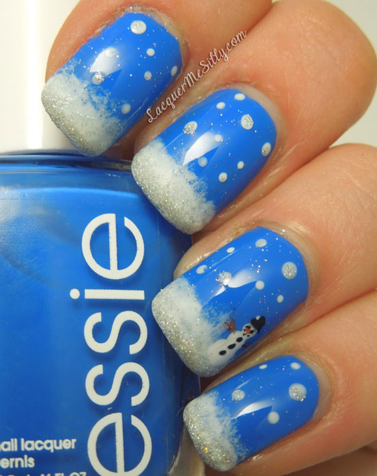 15 Cool Simple Easy Winter Nail Art Designs Ideas 20122013 1 15 Cool, Simple & Easy Winter Nail Art Designs & Ideas 2012/2013