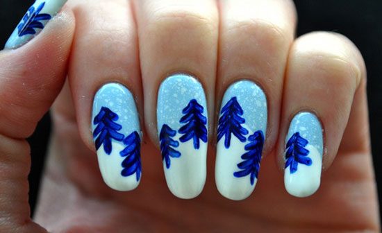15 Cool Simple Easy Winter Nail Art Designs Ideas 20122013 12 15 Cool, Simple & Easy Winter Nail Art Designs & Ideas 2012/2013