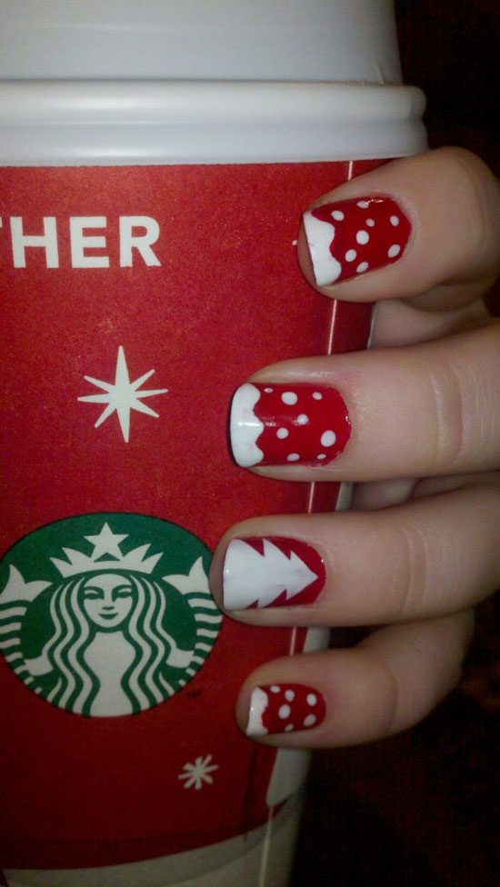 15 Cool Simple Easy Winter Nail Art Designs Ideas 20122013 5 15 Cool, Simple & Easy Winter Nail Art Designs & Ideas 2012/2013