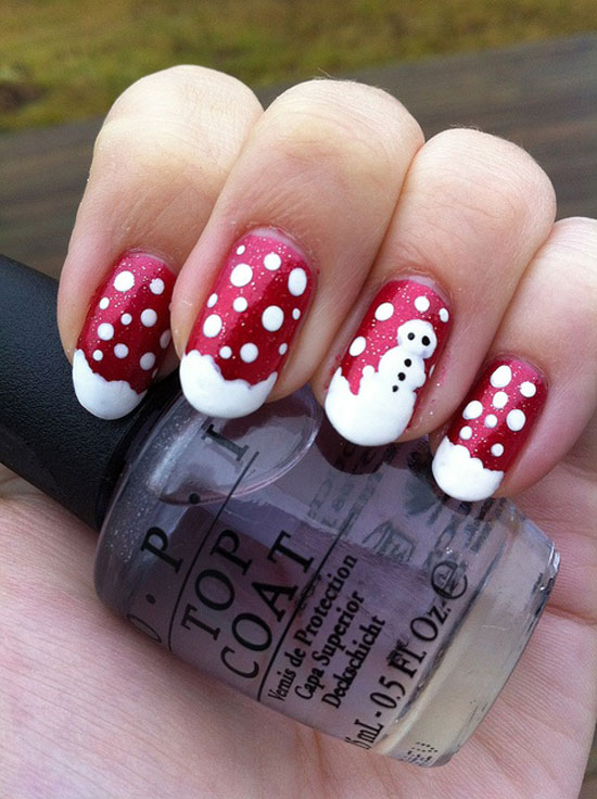 15 Cool Simple Easy Winter Nail Art Designs Ideas 20122013 6 15 Cool, Simple & Easy Winter Nail Art Designs & Ideas 2012/2013
