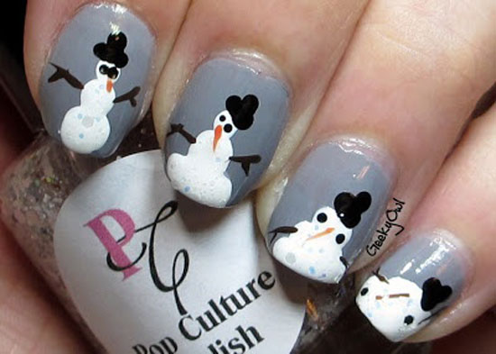 15 Cool Simple Easy Winter Nail Art Designs Ideas 20122013 8 15 Cool, Simple & Easy Winter Nail Art Designs & Ideas 2012/2013