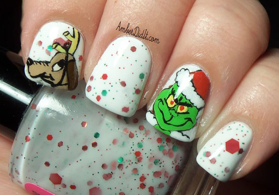 15 Cool Simple Easy Winter Nail Art Designs Ideas 20122013 9 15 Cool, Simple & Easy Winter Nail Art Designs & Ideas 2012/2013