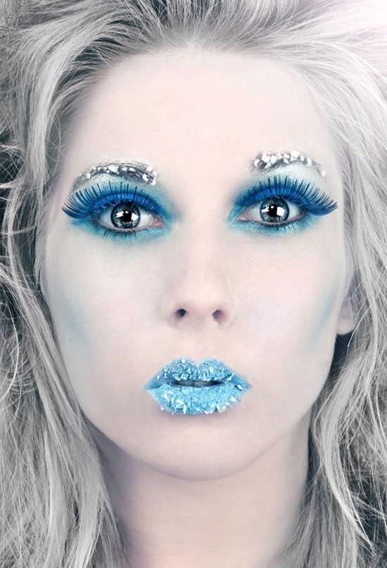 Ice Princess Fairy Make Up Ideas 2012 For Girls 3 15   Frozen  Ice    Ice Princess Halloween Makeup