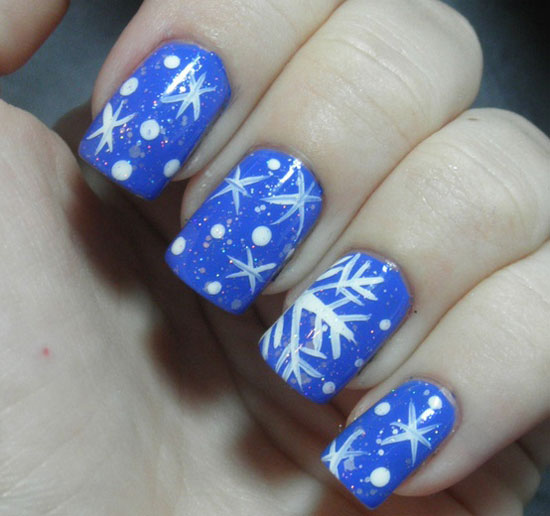 Winter nail design images winter nail art view images inspiring winter snowflake nail art ideas prinsesfo Image collections