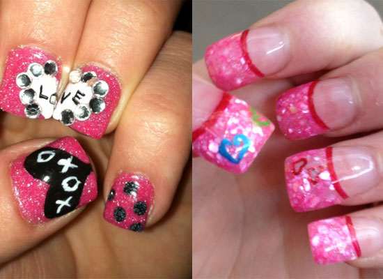 Valentine Nail Art Designs Nail Designs Hair Styles Tattoos And